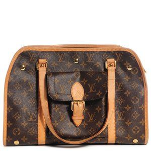 This is an Louis Vuitton Sac Baxter PM Dog Carrier